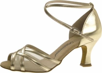 Dance Shoes Silver Heeled Sandal